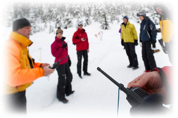 Рации для горнолыжников